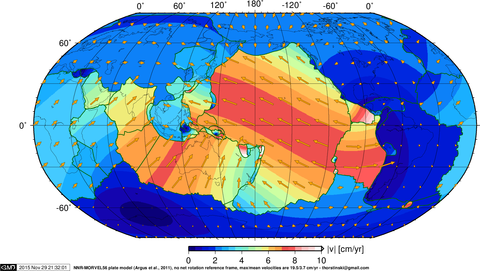 Thorsten Becker - Chair in Geophysics: Global plate tectonic ...